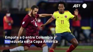 Copa América: Colombia y Venezuela empatan 0-0