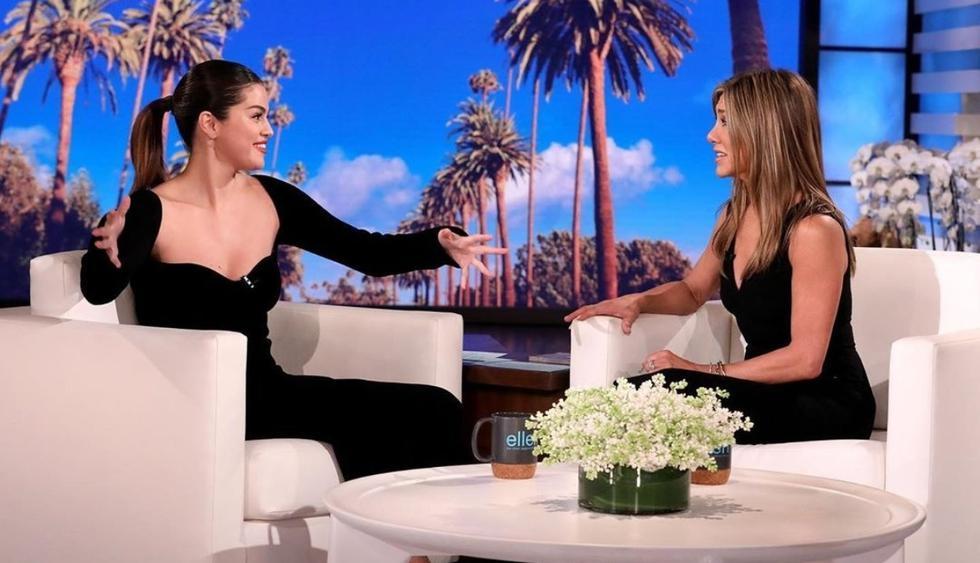 Selena Gomez confiesa cómo se sintió cuando conoció Jennifer Aniston (Foto: Instagram)