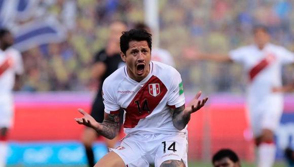 Gianluca Lapadula fue clave en la victoria de Perú ante Ecuador por Eliminatorias. (Foto: Twitter)