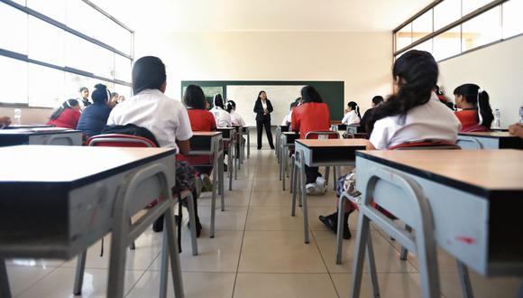 El Congreso de la República aprobó incrementar de un 14% a 100% la CTS que reciben los profesores nombrados. (FOTO: GEC)