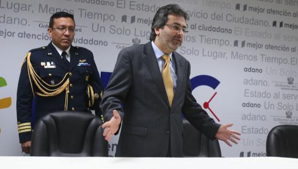 SIN MARCHA ATRÁS. Pese a sus detractores, Jiménez liderará búsqueda de consensos con oposición. (Martín Pauca)