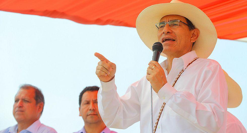 """El presidente indicó que le caerá """"todo el peso de la ley"""" a los malos elementos. (Captura / Video: TV Perú)"""