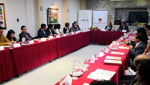 Los actos de violencia afectan el sistema económico en el país, sostuvo la presidenta de la Confiep, María Isabel León. (Foto: Confiep)