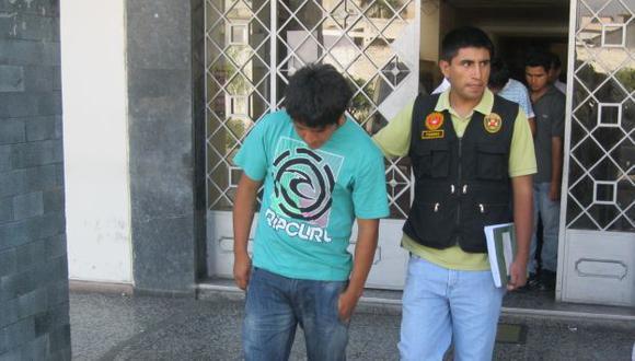 El delincuente será recluido en las próximas horas en un penal. (Archivo/Imagen Referencial)