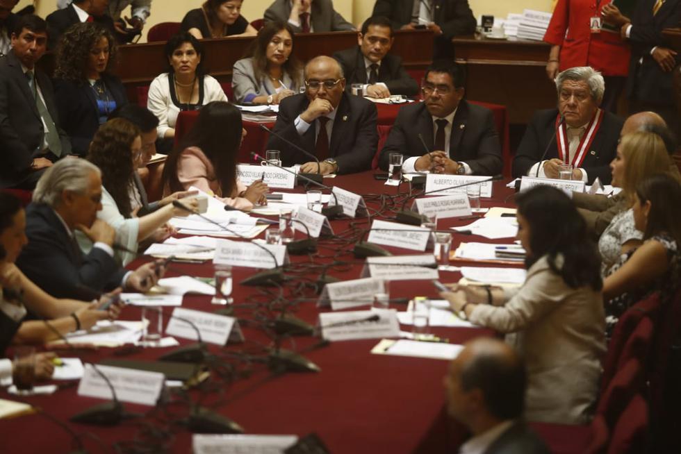 Comisión de Justicia inició análisis de proyecto de ley orgánica de la Junta Nacional de Justicia