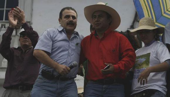 Ambos son opositores al proyecto Conga. (USI)