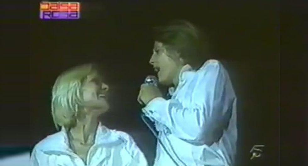 Luis Miguel le canta a su madre, Marcela Basteria, un año antes de que desaparezca de su vida. (YouTUbe)