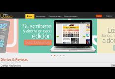 PerúQuiosco: Renovada plataforma digital y multidispositivo permite disfrutar todos los contenidos del Grupo El Comercio