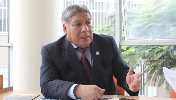 """El rector sostuvo que la Universidad San Marcos """"aparece en mejor ubicación dentro de ranking mundiales"""". (USI)"""