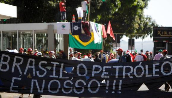 Protestas en Brasil. (EFE)