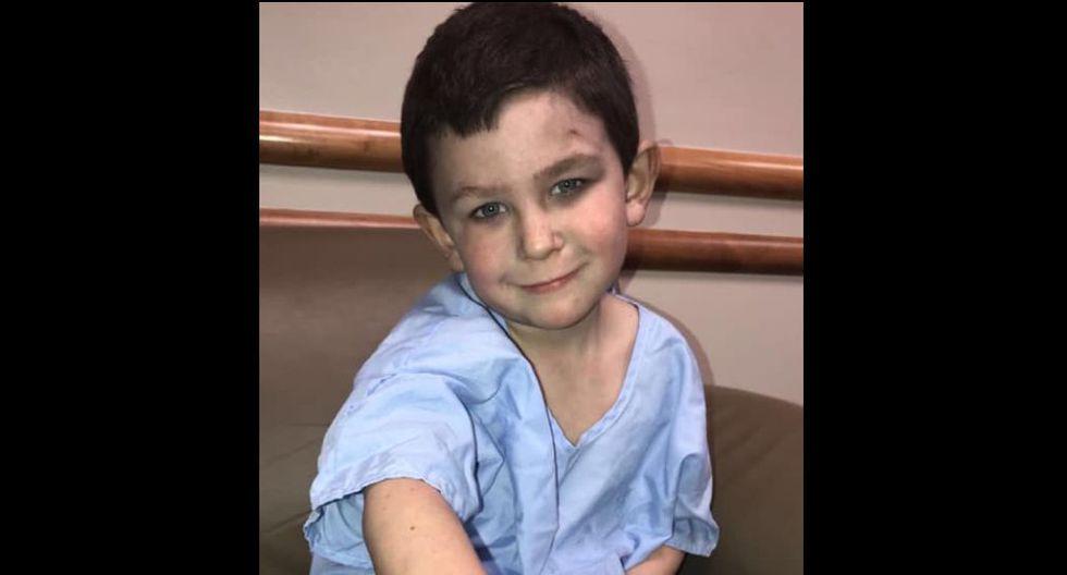 Niño héroe de cinco años salvó a toda su familia de un incendio: 'Si no fuera por él, no estaríamos aquí'. (Facebook)