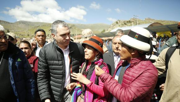 Premier reconoció la ausencia del Estado en la relación con las comunidades. (PCM)