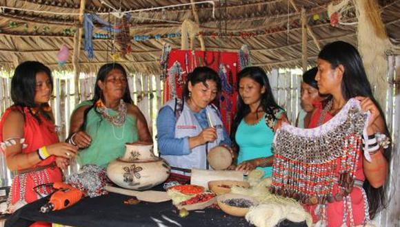 Estas mujeres son consideradas maestras expertas en distintos trabajos productivos (Foto: FONCODES)