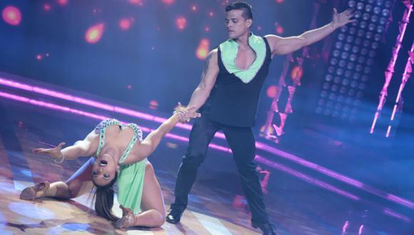 La pareja reapareció en la pista de baile y conquistó al jurado. (Twitter de 'El Gran Show')