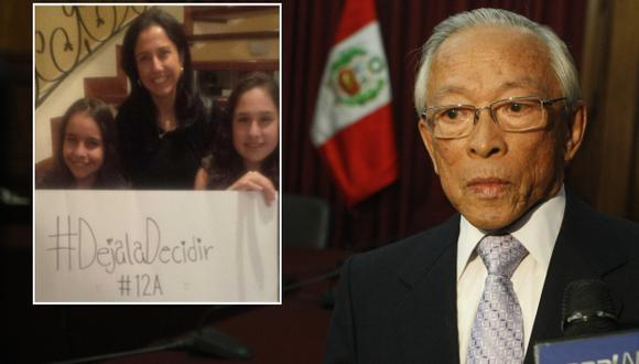 El congresista Yhony Lescano también cuestionó a la primera dama. (Roberto Cáceres/@NadineHeredia)