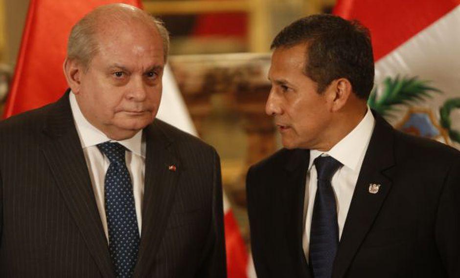 Informe recomienda denunciar constitucionalmente a Ollanta Humala y Pedro Cateriano. (Perú21)