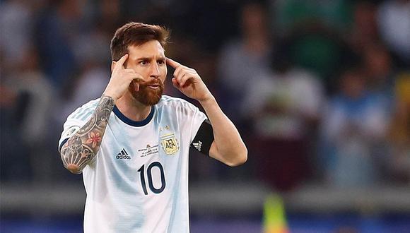 Lionel Messi es duramente criticado por su participación en la Copa América 2019. (Foto: EFE)
