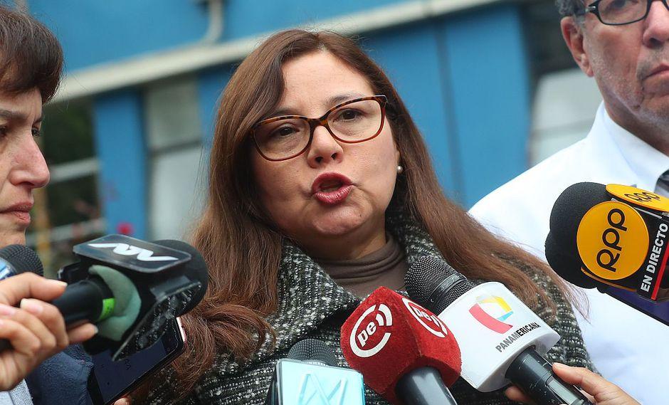 La ministra de la Mujer, Ana María Mendietta, pidió no normalizar los actos de violencia contra la mujer. (Video: Canal N)