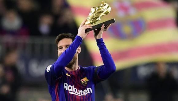 Lionel Messi obtendrá el premio por tercer año consecutivo. (Foto: AFP)