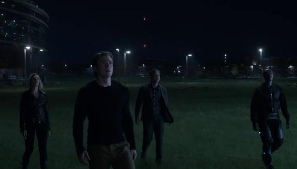 """¿Habría un personaje más en esta escena del spot de TV de """"Avengers: Endgame""""?(Fotos: Marvel Entertainment en YouTube)"""