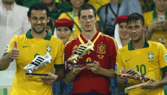 Neymar marcó cuatro goles en el torneo. (AP)