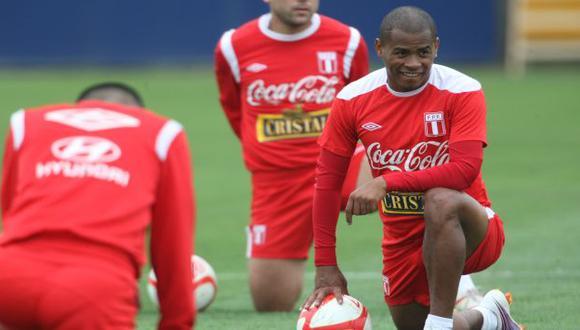 ESTÁ DE VUELTA. Aguirre regresa a la selección con miras al partido ante Bolivia en La Paz. (Luis Gonzáles)