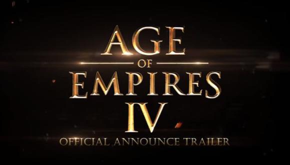 Microsoft anuncia el desarrollo de 'Age of Empires 4' (YouTube/Windows)