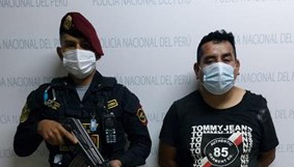 El detenido Wilder Espinoza es investigado en la Depincri Callao.