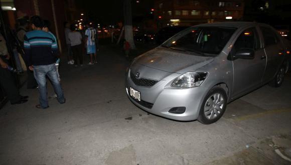 """El taxista """"se perdió en el camino y entró en una zona peligrosa de Chorrillos (La Paradita)"""", dijo el agraviado. (USI)"""