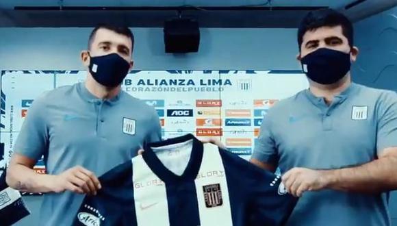 Edgar Benítez fue presentado como refuerzo de Alianza Lima. (Captura: Alianza Lima)