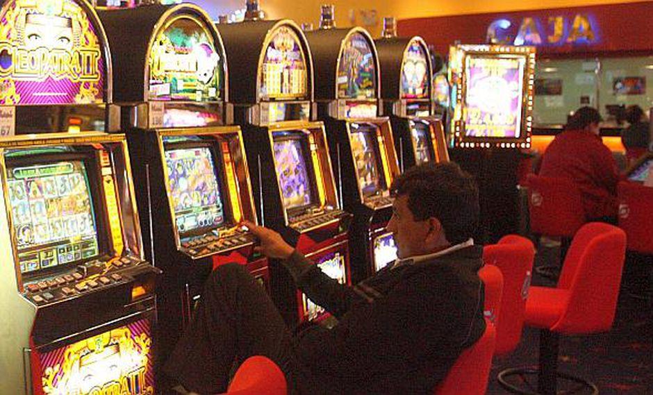 Los casinos y tragamonedas pagan actualmente un impuesto de 12%. (Foto: GEC)