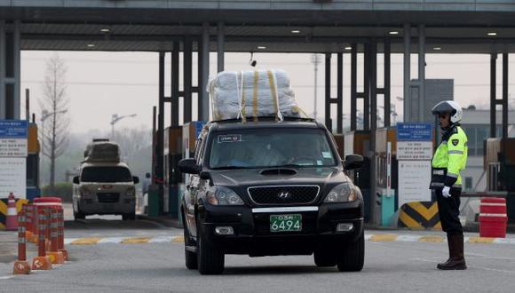 Se fueron. Ya no quedan trabajadores surcoreanos en el complejo industrial de Kaesong. (EFE)