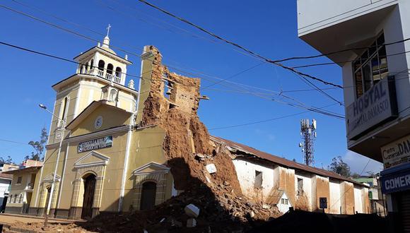 Iglesia de Cutervo. (Foto: Facebook Cutervo al día)