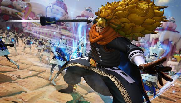 Muy pronto 'Vinsmoke Judge', estará disponible para 'One Piece: Pirate Warriors 4' como contenido descargable.