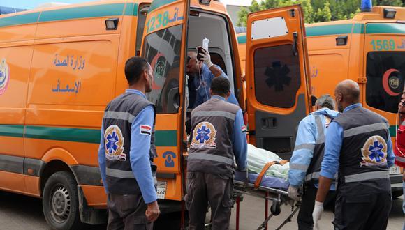 Un accidente de autobús en El Cairo mató a seis personas, incluidos turistas de India y Malasia, e hirió al menos a otras 24 personas, según fuentes médicas. En otro accidente de tránsito, al norte de Egipto, 22 personas fallecieron. (Foto: AFP)