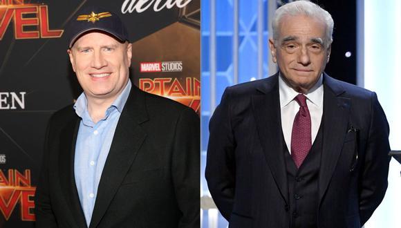 Keivin Feige le responde a Martin Scorsese por críticas a Marvel. (Foto: AFP)