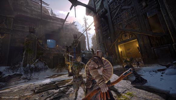 Tendremos que hacer uso de nuestras armas y escudo para hacer frente a diversos enemigos.
