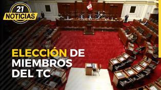 Congreso en elección de miembros del TC