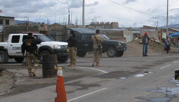 Operativos en la frontera para ubicarlos. (USI)