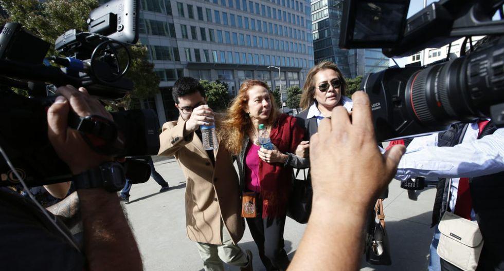La exprimera dama Eliane Karp ha evitado hablar ante la prensa luego de la detención de Alejandro Toledo. (Foto: Mario Zapata / GEC)