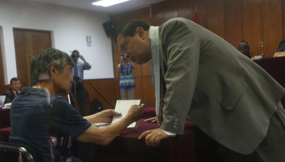 Alberto Fujimori fue internado tras sufrir un pequeño infarto cerebral. (Perú21)