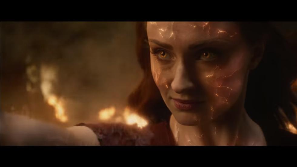 """""""X-Men: Dark Phoenix"""": lanzan nuevo tráiler y evidencian el inmenso poder de Jean Grey (Foto: Captura de pantalla)"""