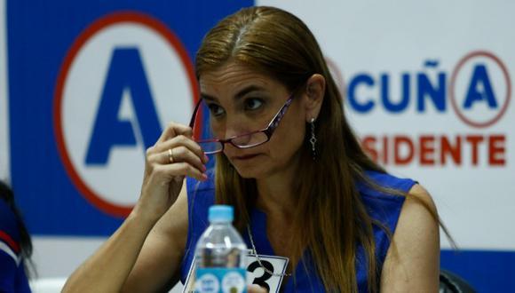 Anel Townsend defendió al candidato César Acuña. (César Fajardo)