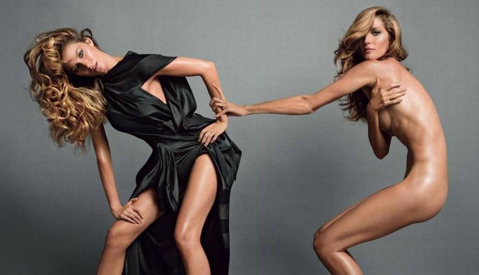 Gisele Bündchen es la protagonista de la próxima edición de Vogue Francia.(Vogue Francia)