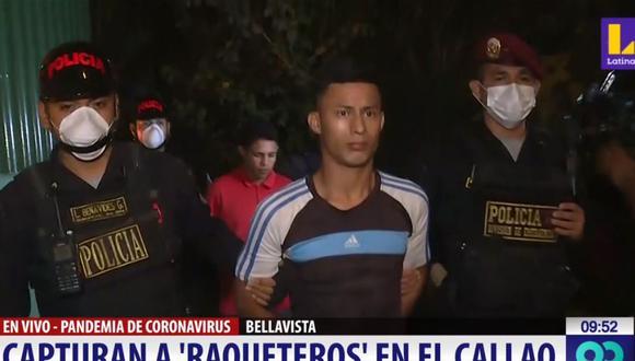 Los venezolanos fueron detenidos tras una persecución de varias cuadras. (Latina)