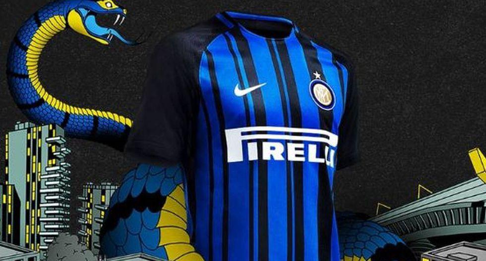 El Inter Milan, en tanto, mantiene su diseño original y no realiza muchos cambios. (Inter Milan)