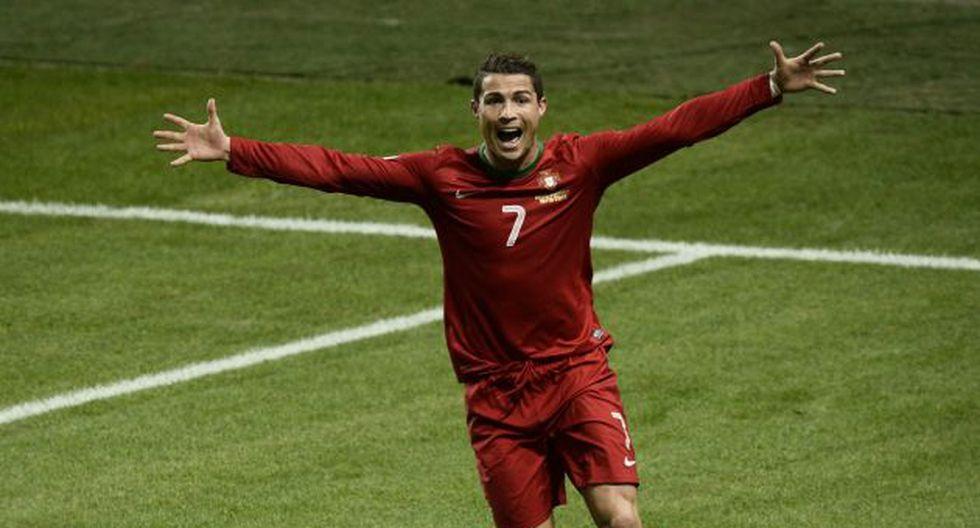 Cristiano Ronaldo fue la gran figura de la cancha. (AFP)