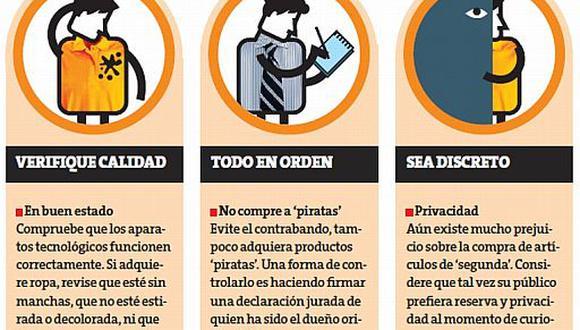 Sigue estos tres tips para tener una compra segura. (Perú 21)