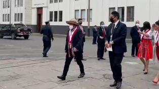 Así fue la llegada de Vladimir Cerrón al Congreso de la República