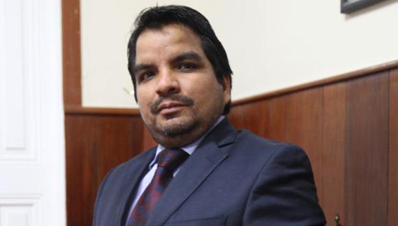 Julio Arbizu presentó reporte de gestión. (USI)